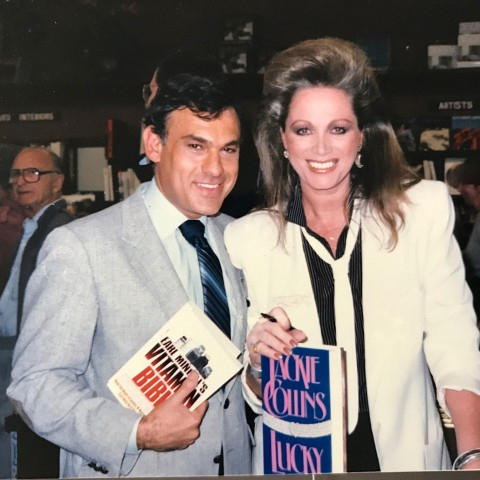 Earl Mindell with Jackie Collins