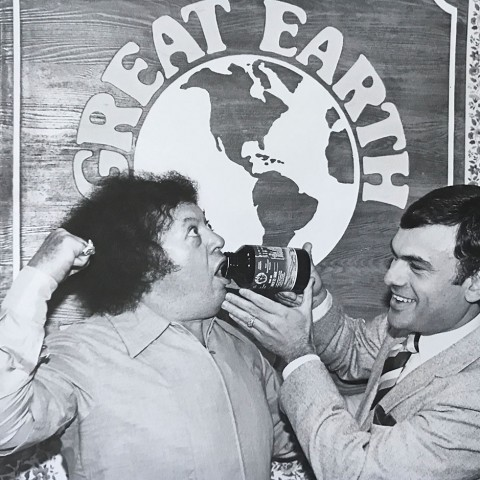Earl Mindell with Marty Allen