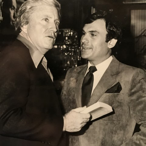 Earl Mindell with Merv Griffin