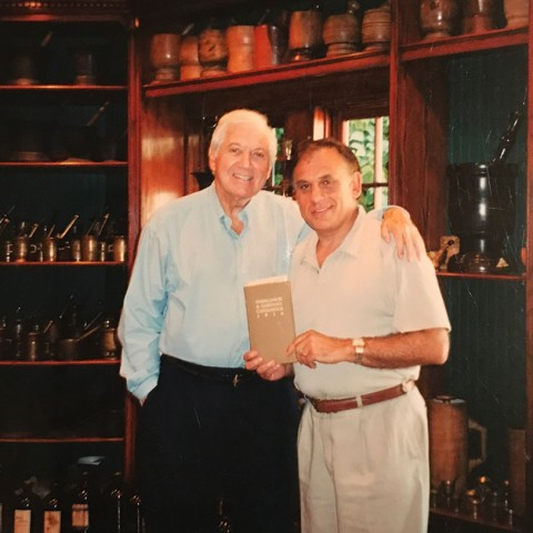 Earl Mindell with Monty Hall