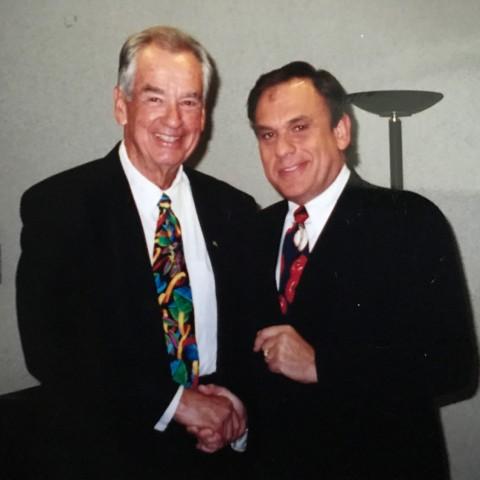 Earl Mindell with Zig Ziglar
